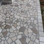 pavimento esterno travertino misto