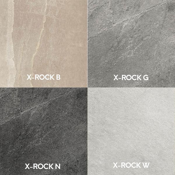 linea completa x-rock di Imola Ceramica